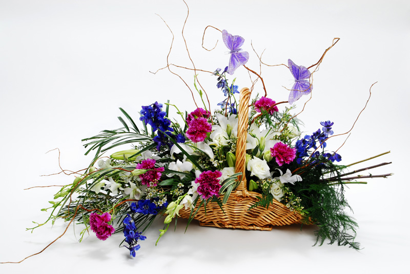 Basket Of  Precious Moments