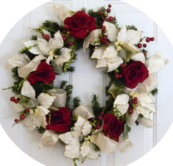Flowers & Accents Wreath