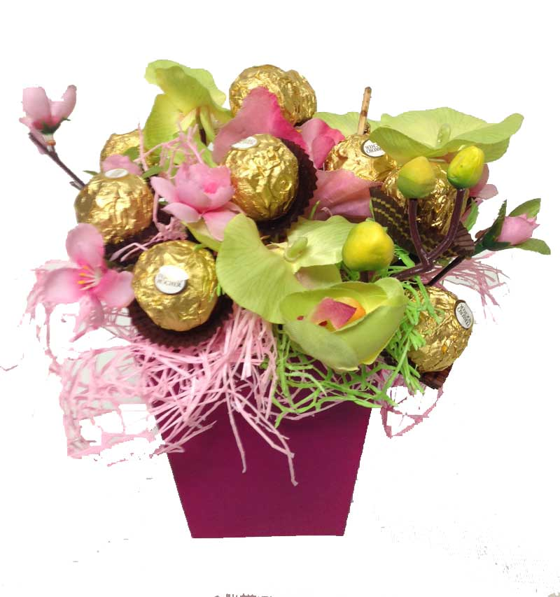 Chocolate Nest Bouquet