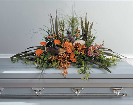 Saga Casket Spray