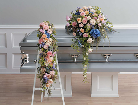 Epoch Casket Spray and Arrangement