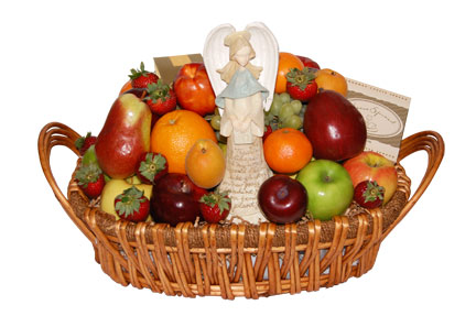 Bulgaria florist fruit cheese gourmet gift baskets flowers delivery fresh fruit gourmet gift basket negle Images