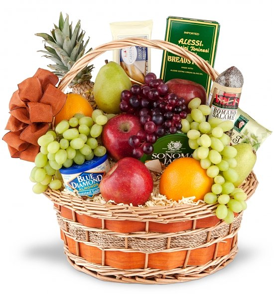 Bulgaria florist fruit cheese gourmet gift baskets flowers fresh fruit gourmet gift basket negle