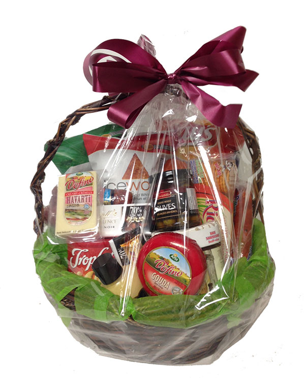Bulgaria florist fruit cheese gourmet gift baskets flowers delivery gluten free gourmet basket negle Choice Image