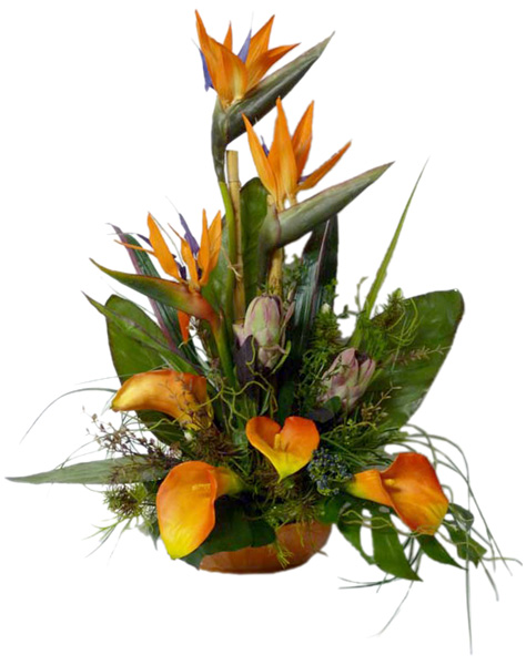 Silk Tropical Arrangement(V17)
